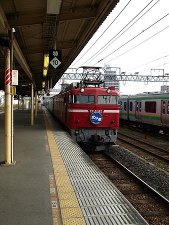 EF81+24系客車 北斗星(宇都宮駅)5
