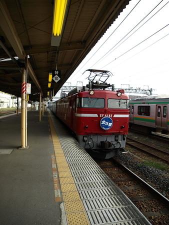 EF81+24系客車 北斗星(宇都宮駅)7