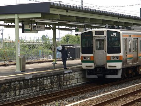 211系(宝積寺駅)3