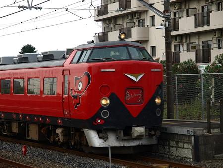 485系特急あいづ号(宝積寺駅)6