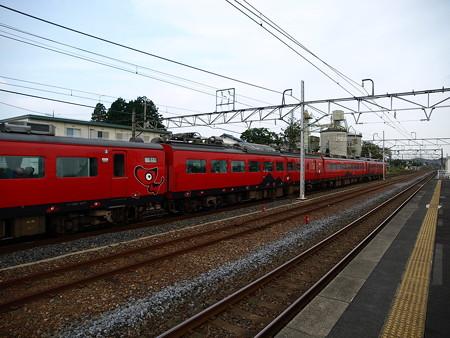 485系特急あいづ号(宝積寺駅)9