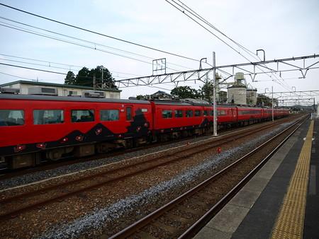 485系特急あいづ号(宝積寺駅)14