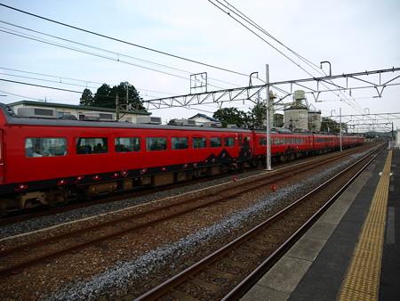 485系特急あいづ号(宝積寺駅)15