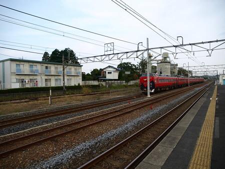 485系特急あいづ号(宝積寺駅)18