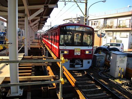 工事中の小島新田駅4