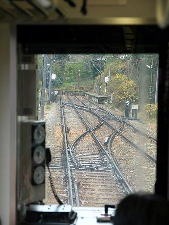 箱根登山電車の車窓(大平台駅→宮ノ下駅)3