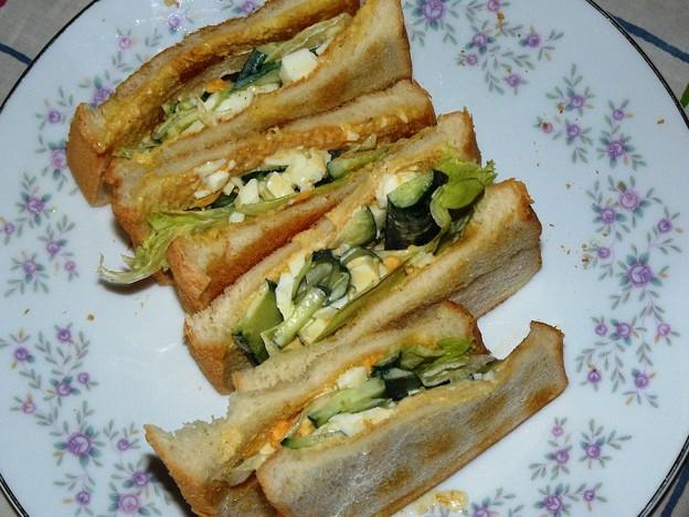 9931441_2012年9月7日昼にサンドイッチ食べたくなった(1)