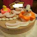Photos: 誕生日 アイスケーキ