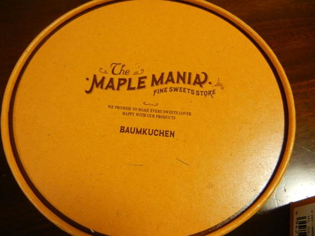 Photos: The MAPLE MANIA ザ・メイプルマニア メイプルのバームクーヘン
