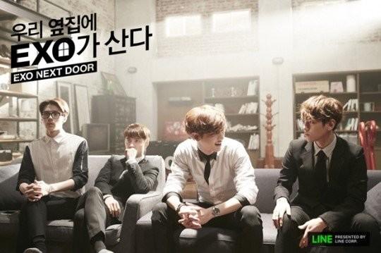 韓国ドラマ EXO NEXT DOOR~私のお隣さんはEXO チャンヨル D.O. ベクヒョン セフン