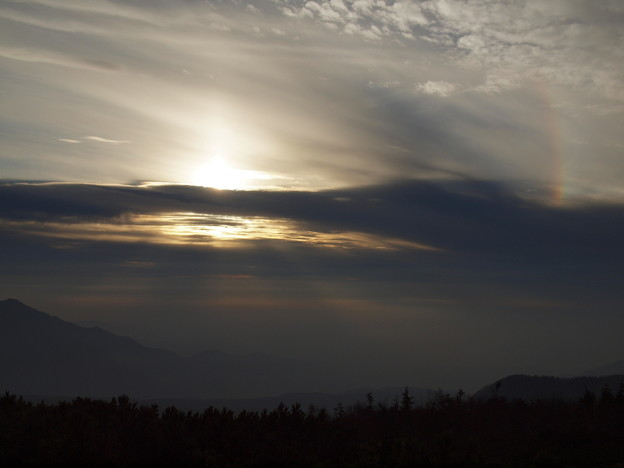 Photos: 「立山」夕暮れ時