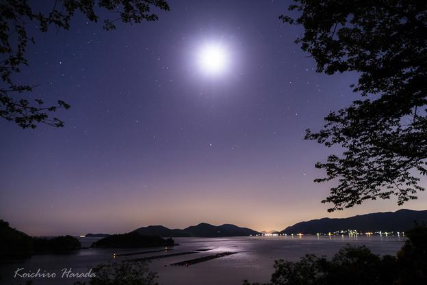月夜の笠戸島