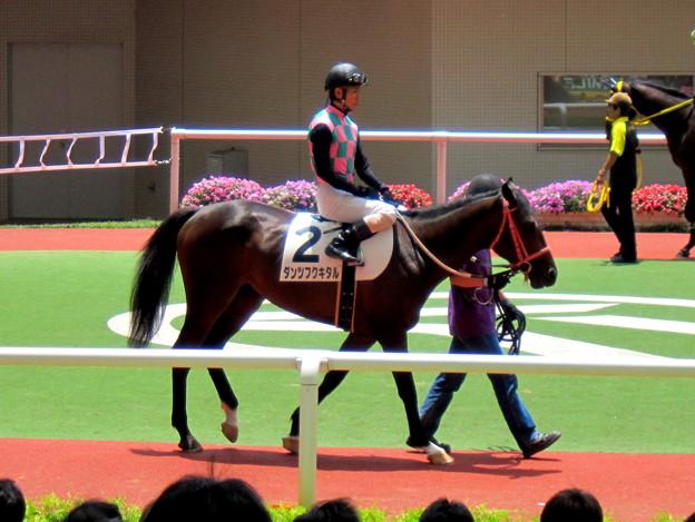 Photos: ダンツフクキタルと北村友一騎手
