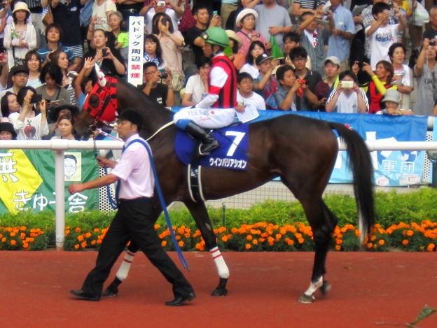 ウインバリアシオンと岩田康誠騎手