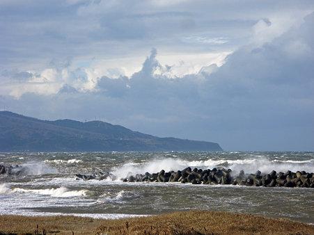 冬の日本海(直江津)