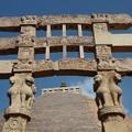 Photos: 第1塔南塔門~仏教彫刻 The southern torana at the Great Stupa