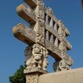 第1塔西塔門~仏教彫刻 Upper part of the Western torana
