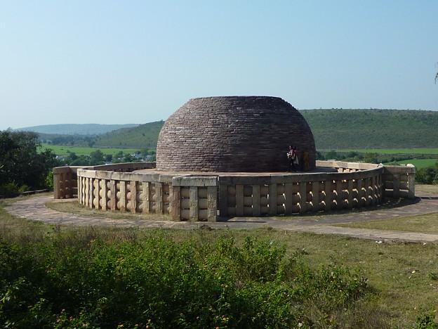 サーンチー第2塔 A panoramic view of Stupa No.2