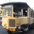 ハイダラバードのバス Curious bus in Hyderabad