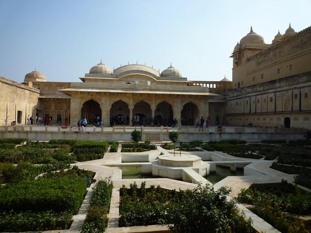 アンベール城庭園  Garden at Amer Palace