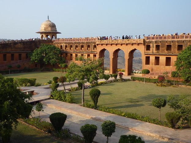 ジャイガル要塞空中庭園 Jaigarh Fort Charbagh Garden