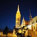 写真: ブダペストの王宮の丘 Matthias Church in Budapest