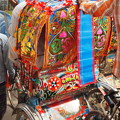 写真: 走る芸術リキシャアート Rickshaw art in Bangladesh