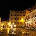 Photos: シベニクの広場の夜景 Square at night  in Šibenik