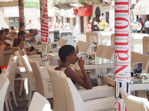 Photos: カフェ美人 Beauté au café