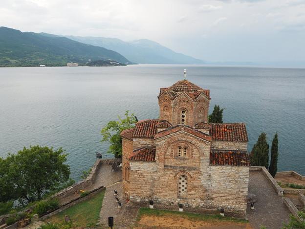 湖畔の聖ヨハネ・カネオ教会 Saint John at Kaneo