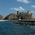 写真: オマーン湾の要塞 Fort & Sea of  Oman from Al Mirani Fort