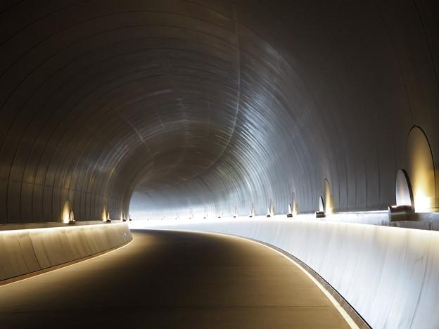 トンネルの向うにも神はいないTunnel leading to the Museum