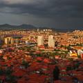 写真: 暮れ泥むアンカラの街 Panoramic View of Ankara ,Turkey