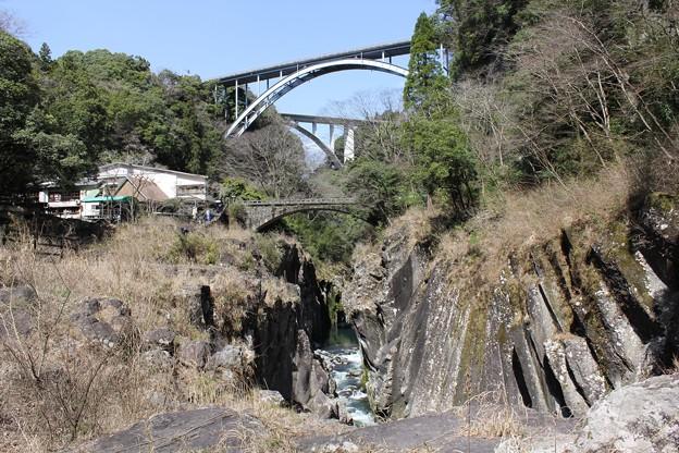 写真: 高千穂三段橋