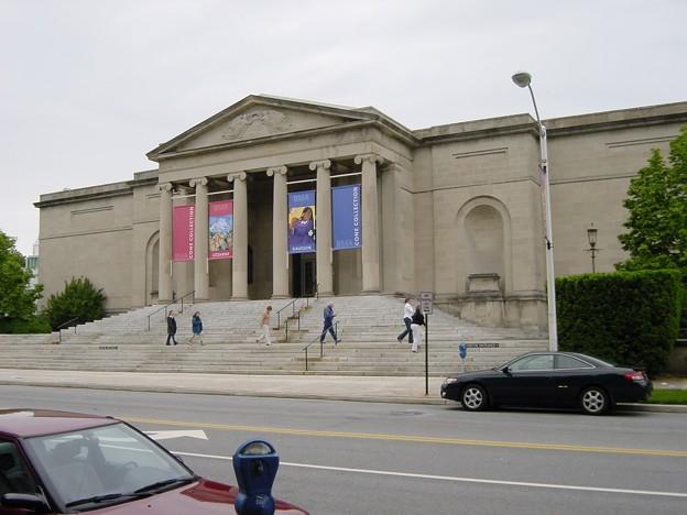 写真: ボルチモア美術館