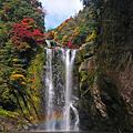 鵜の子滝と虹