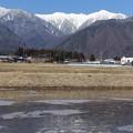 写真: 山は真っ白