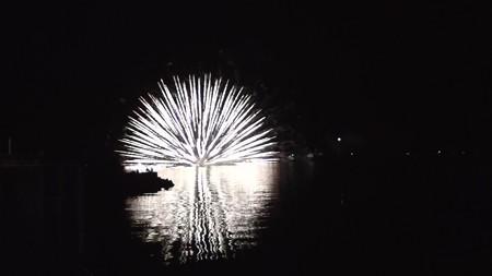 宇和島湾海上打ち上げ花火26