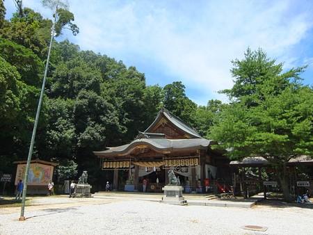 和霊神社06 あの竹のてっぺんの御幣を取る