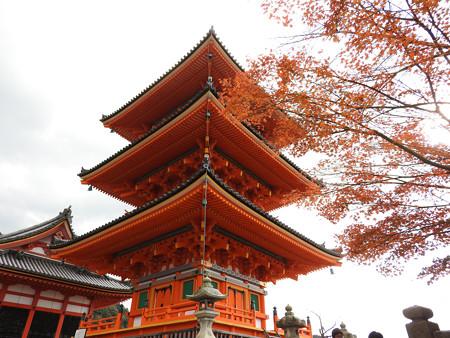 清水寺(昼)05 三重塔