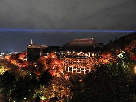 清水寺(夜)32「桧舞台」遠望