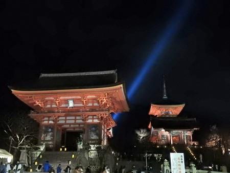 清水寺(夜)43 仁王門