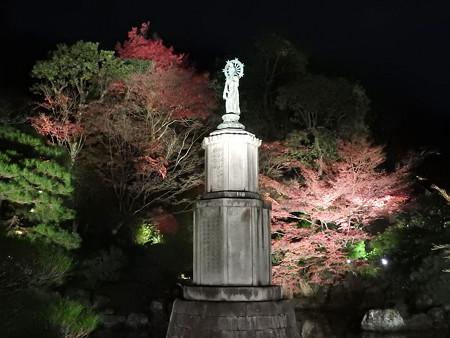 知恩院(ライトアップ)18 高村光雲作の聖観音菩薩立像
