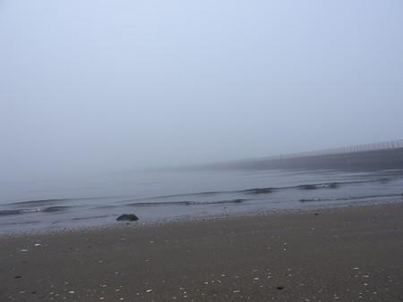 霧の朝 幕張海岸02