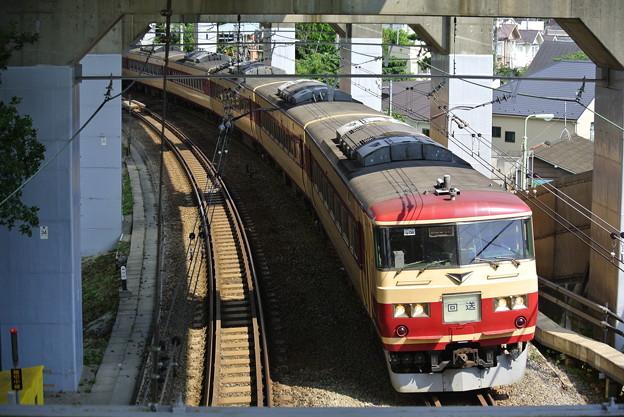横須賀線 185系あまぎ色 回送