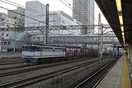 鶴見駅にて