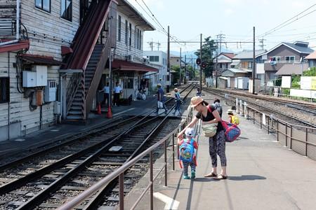 2014.07.29 新金谷駅 王子のリアルトーマスの旅終結
