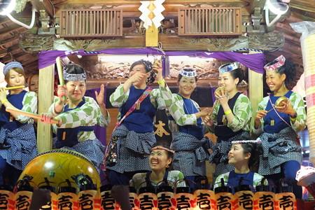 2014.08.03 甲子祭 山車 囃子太鼓 1
