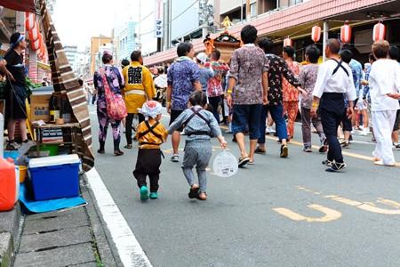 2014.08.03 甲子祭 神輿 金魚の糞