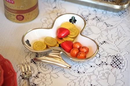 2015.10.25 ベーリック・ホール テーブルのお菓子